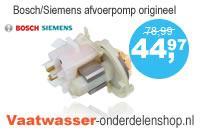 Bosch - Siemens vaatwasser afvoerpomp origineel